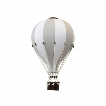 Montgolfière - Petit - Gris Pâle et Blanc - SuperBalloon