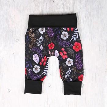 Pantalon évolutif - 0-12m - Fleuris Coloré
