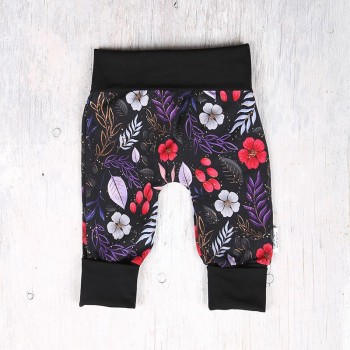 Pantalon évolutif - 6-36m - Fleuris Coloré