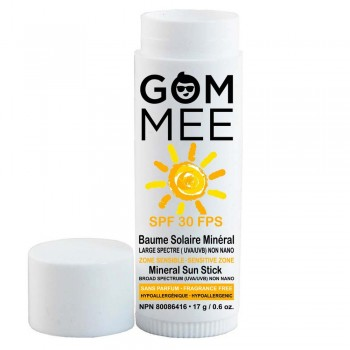 Baume Solaire Mineral SPF30 17g - Zone Sensible - Gommee
