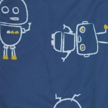 Bavoir À Manches 12-24m - Robot - Perlimpinin