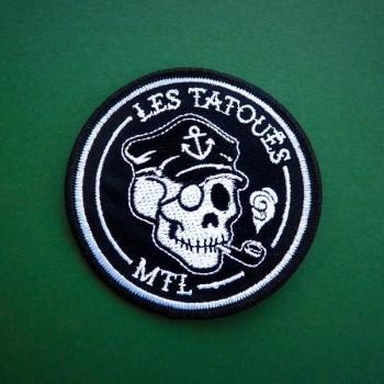 Patch Capitaine - Les Tatoués