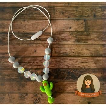 Collier Sensoriel pour Enfant - Cactus