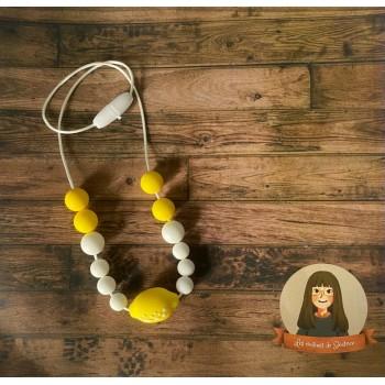 Collier Sensoriel Pour Enfant - Citron