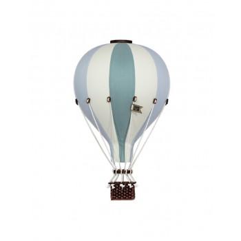 Montgolfière - Moyen - Turquoise Gris et Beige - Super Balloon