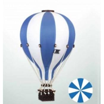 Montgolfière - Petit - Bleu foncé et Blanc - Super Balloon