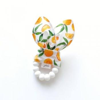 Hochet Dentition - Clémentines Blanches - Jululu