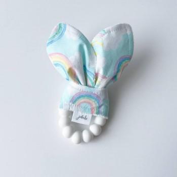 Hochet Dentition - Arc-en-ciel - Jululu