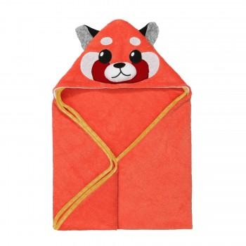 Serviette à Capuchon - Panda Roux - Zoocchini