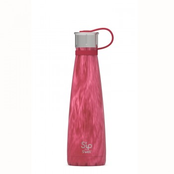 Bouteille Isotherme 15oz - Bois Rose - S'ip By s'well