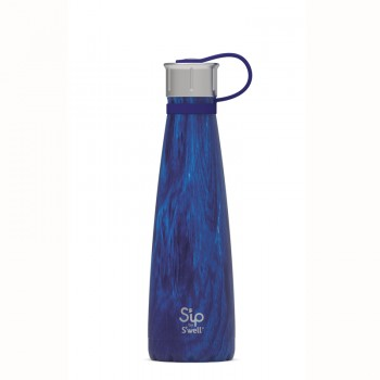 Bouteille Isotherme 15oz - Forêt Azure - S'ip by S'well