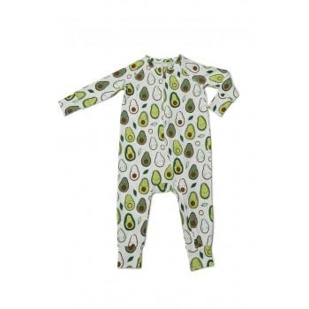 Pyjama Manches Longues - Avocat - Loulou Lollipop