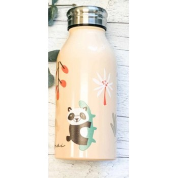 Bouteille Isotherme 350ML - Tropical - Pois & Moi