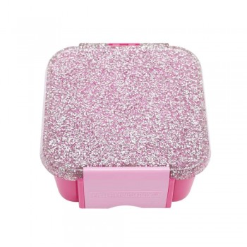 Bento 2 Compartiments - Glitter Rose - Little Lunch Box