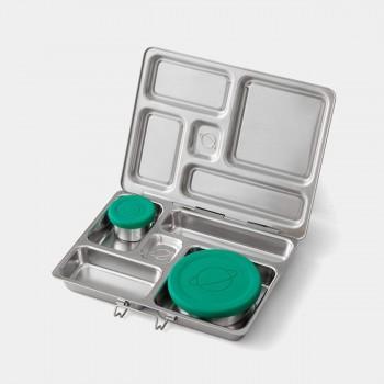 Planetbox - Rover - 5 Compartiments en Acier Inoxydable