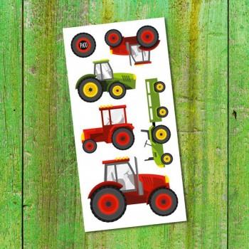 Tatouage Temporaire - Les Tracteurs - Pico